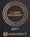 Suomen vahvimmat 2017 asiakastieto.fi